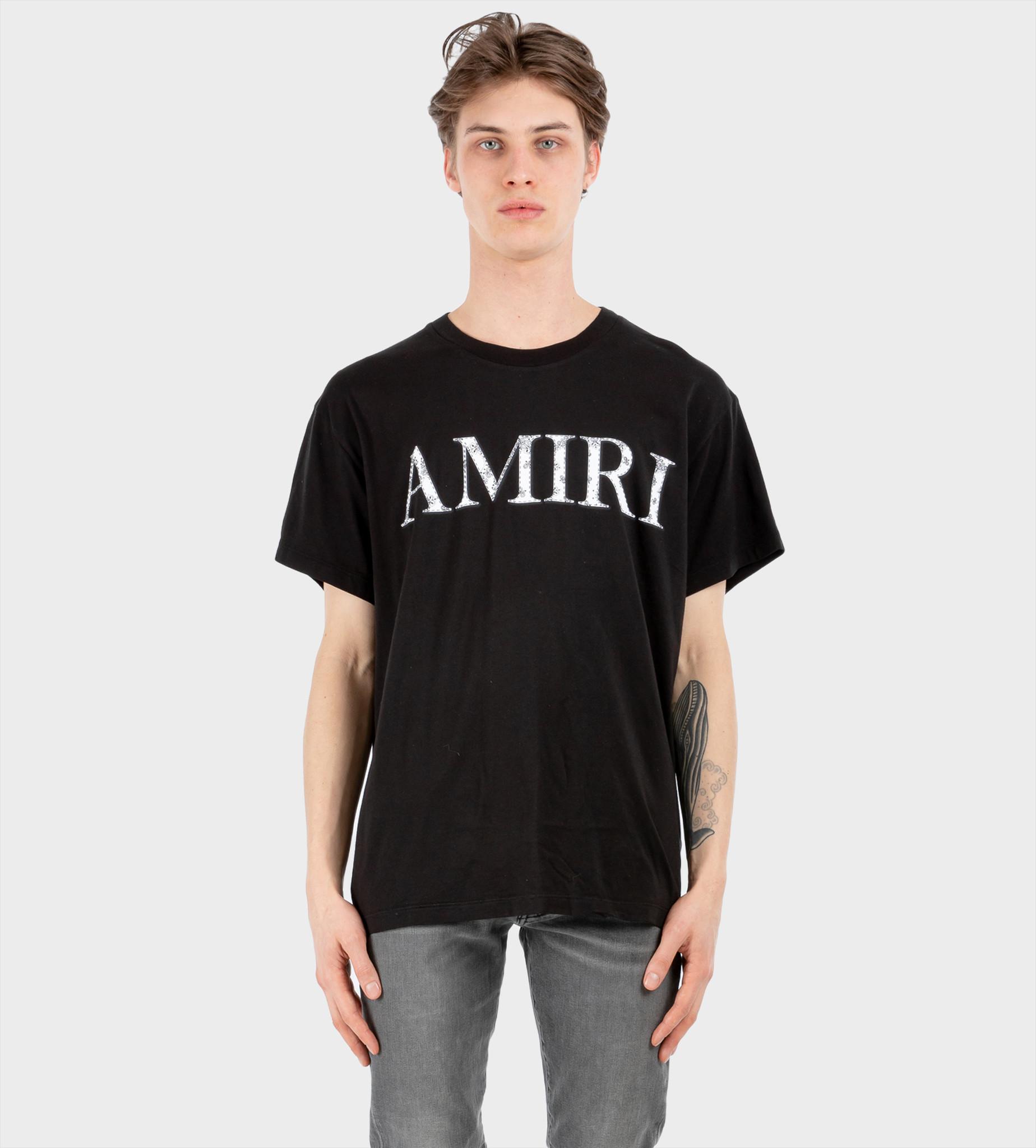 AMIRI Bandana Logo T-Shirt Black