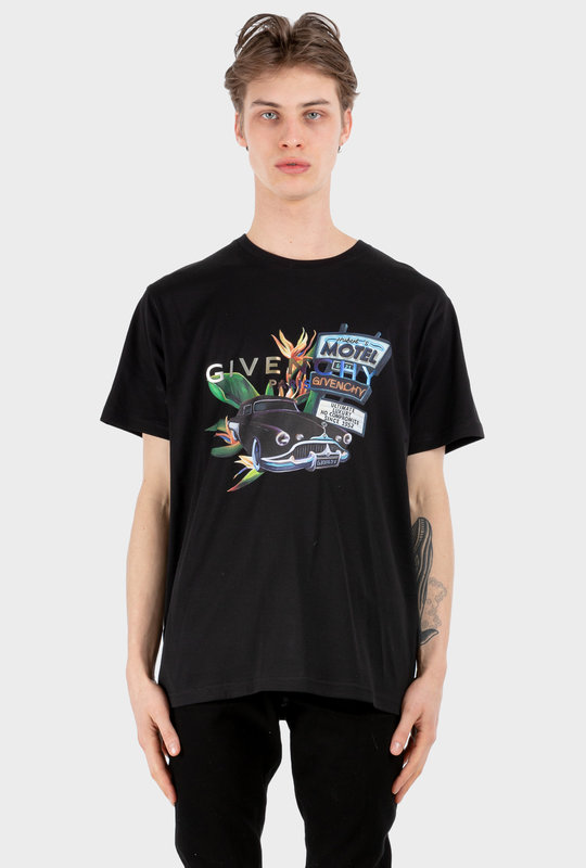 Motel T-shirt Black