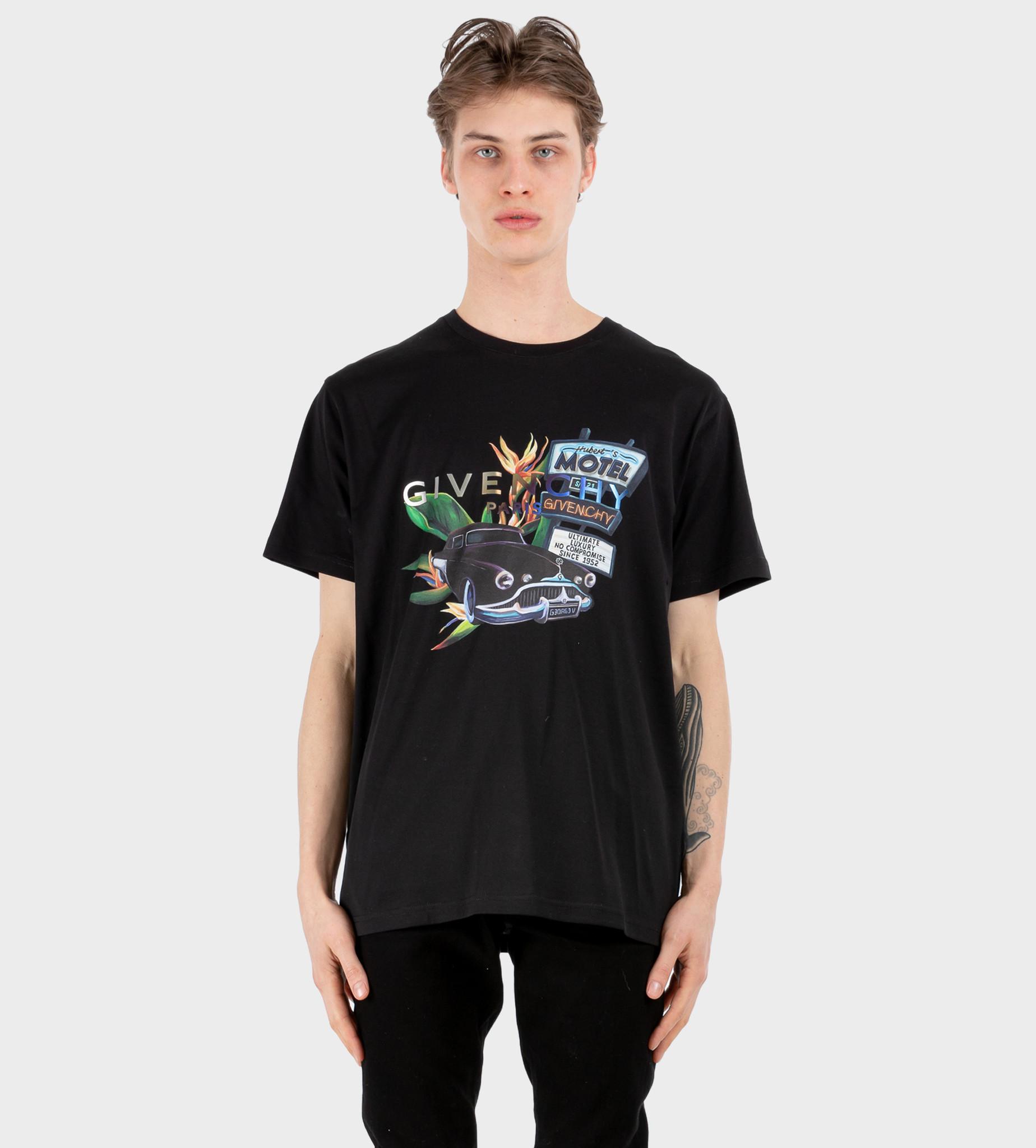 GIVENCHY Motel T-shirt Black