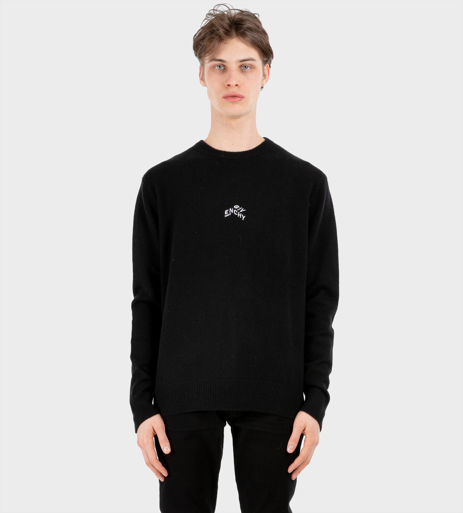 GIVENCHY Refracted Embroidered Sweater Black