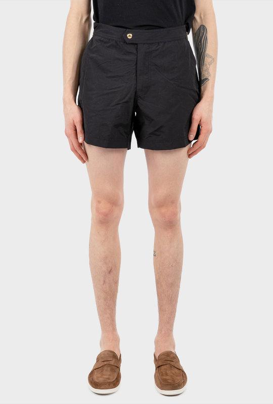 Nylon Swim Shorts Black
