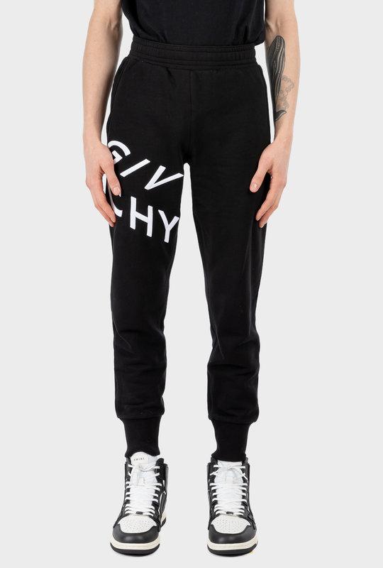Embroidered Logo Sweatpants Black