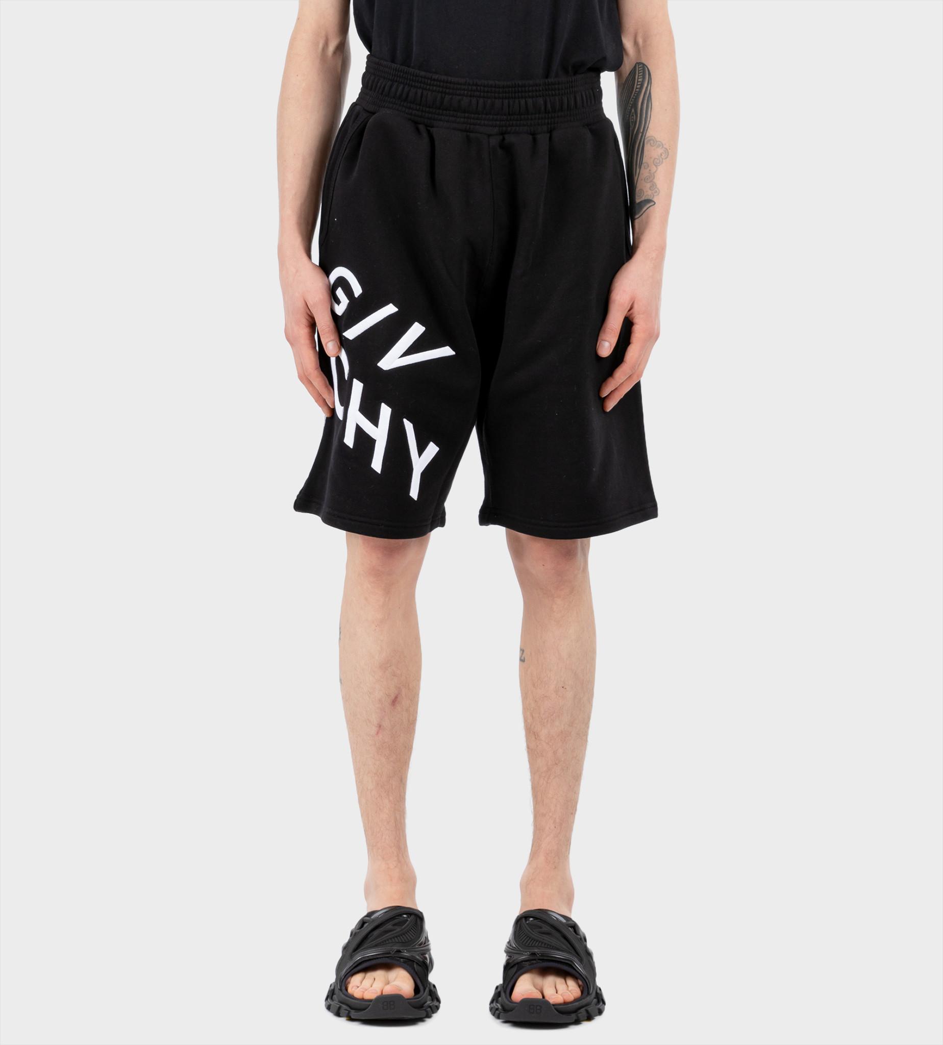 GIVENCHY Logo-Print Shorts Black