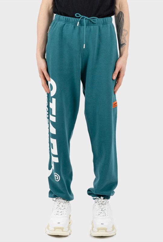 CTNMB-Print Track Pants Green