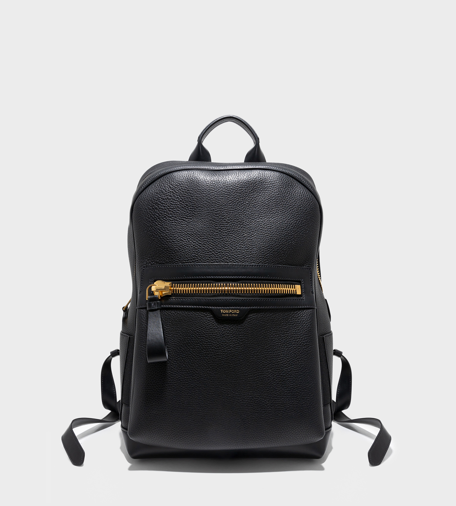TOM FORD Calfs Leather Backpack Black