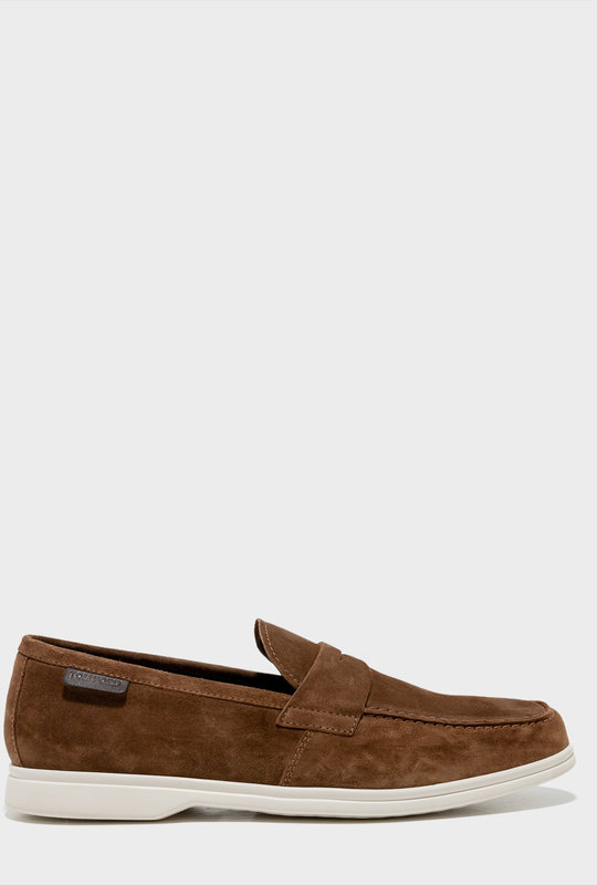 Suede Bristol Loafer Brown