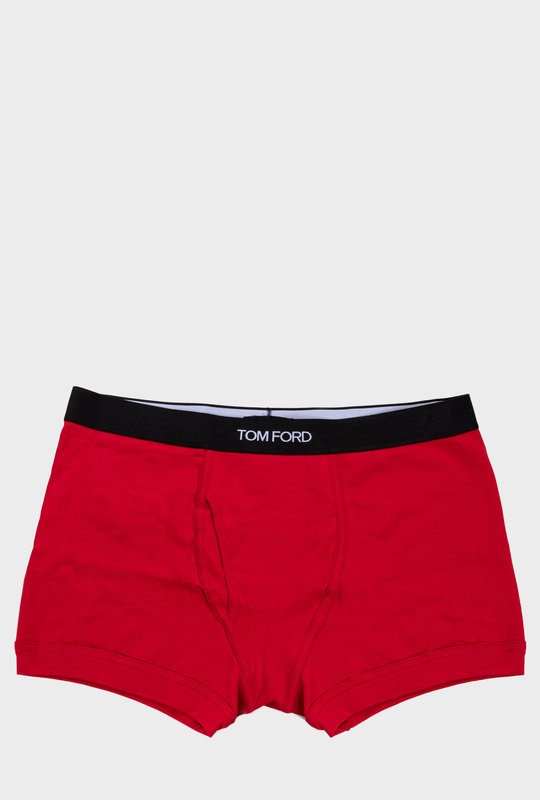 Cotton Boxer Briefs Red