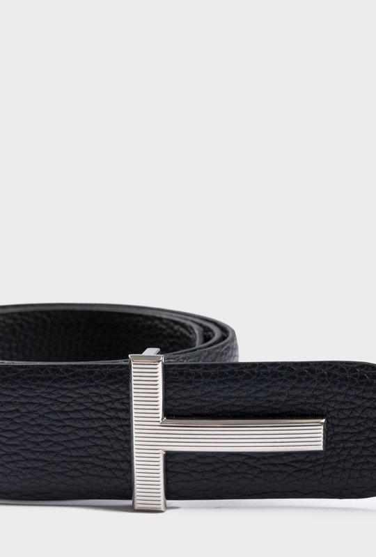 T Plague Reversible Belt Black