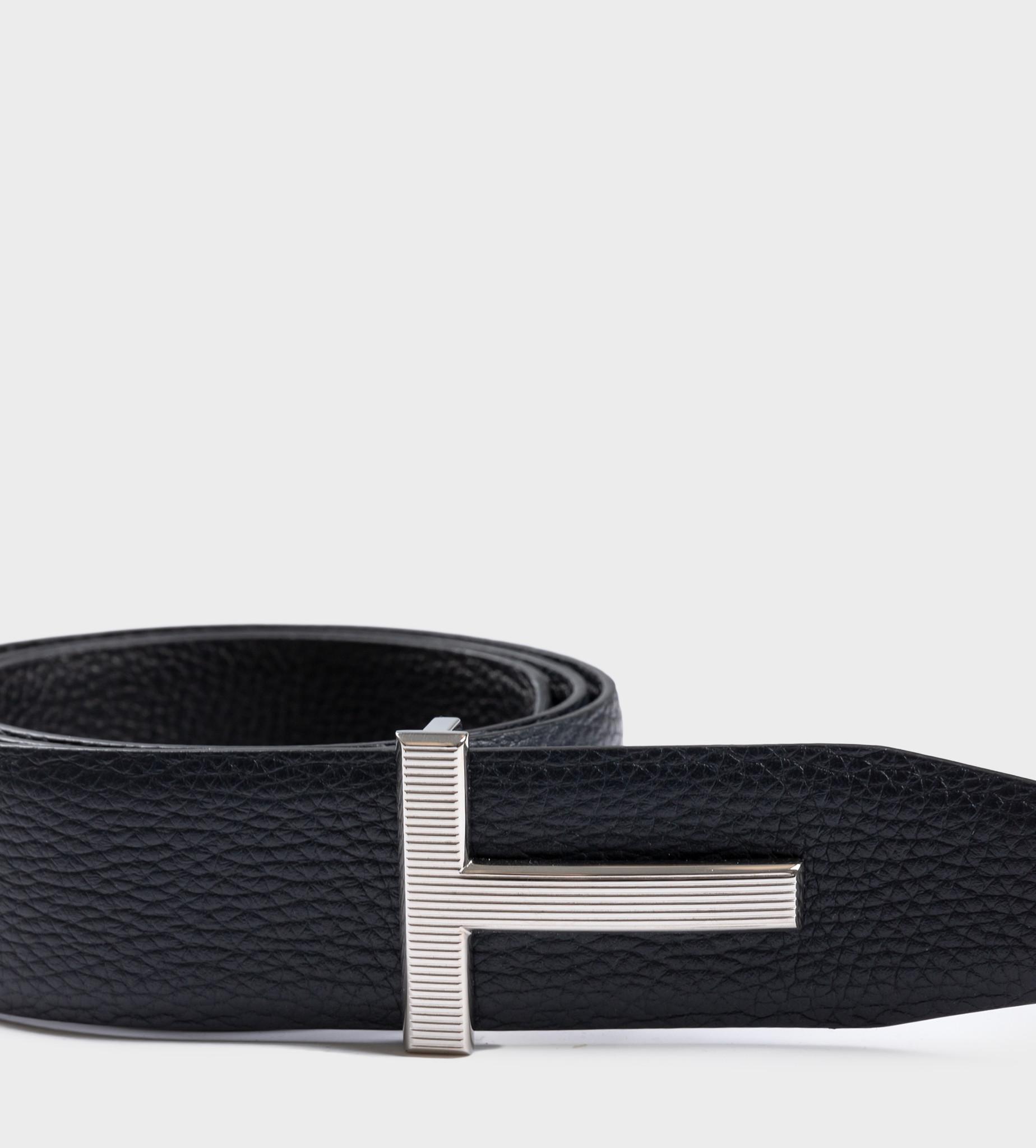 TOM FORD T Plague Reversible Belt Black