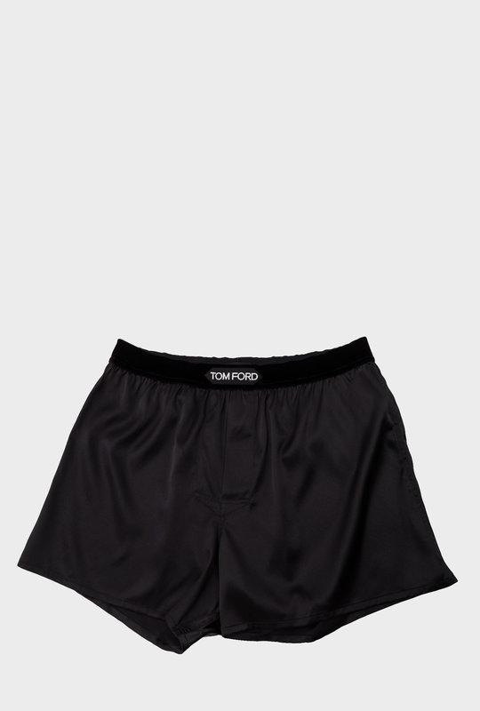 Silk Boxer Black