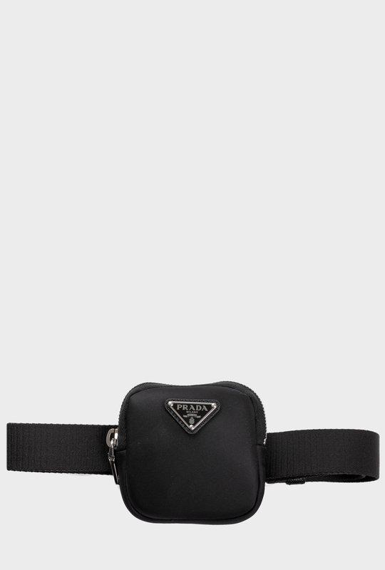 Nylon Tape Belt Black