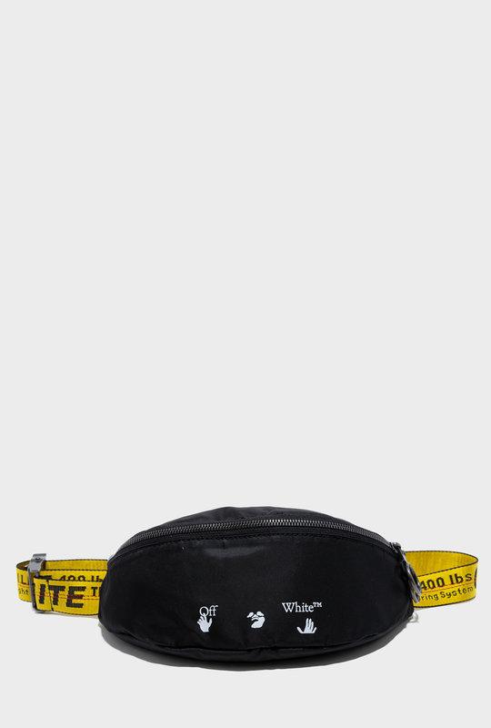 Nylon Belt Bag Black