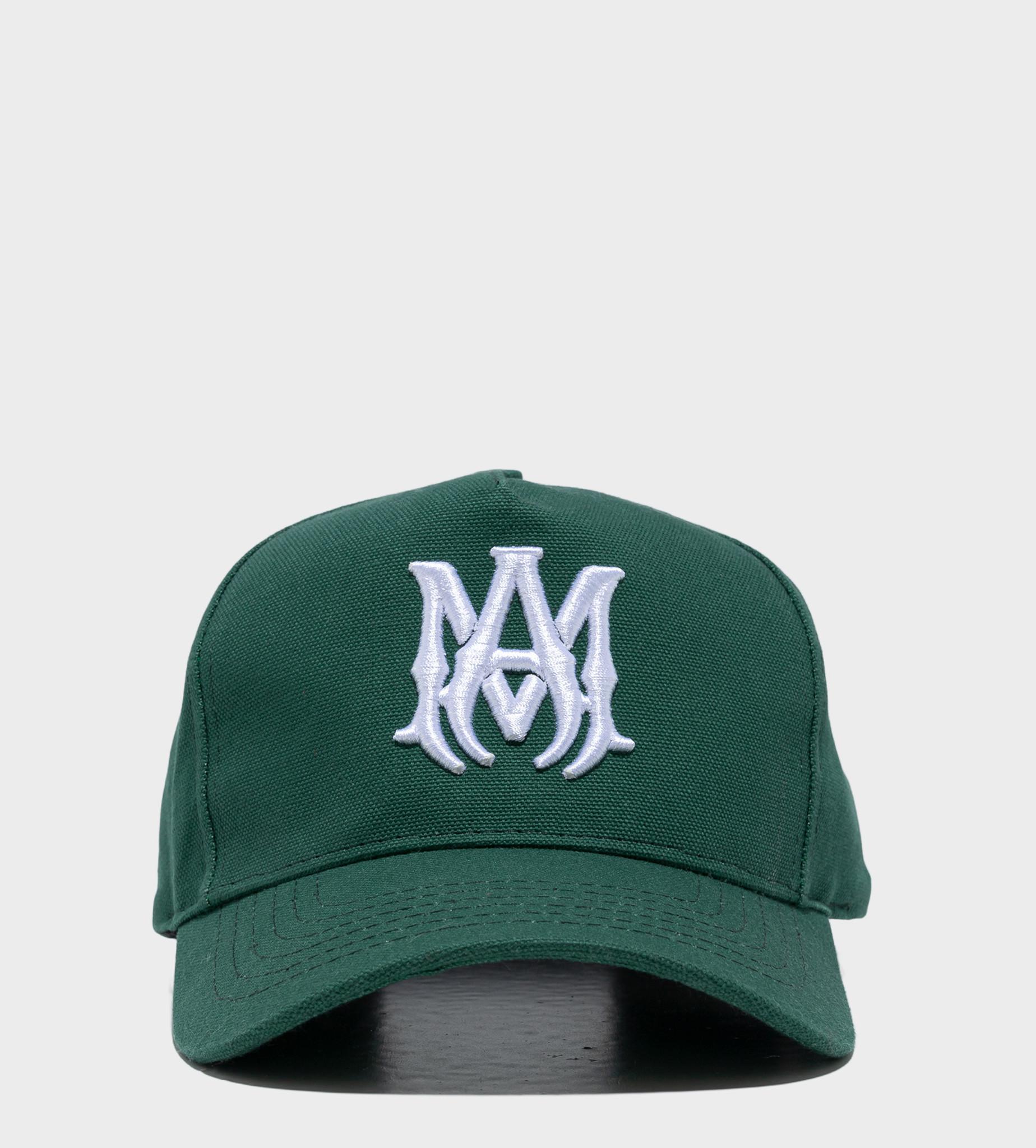 AMIRI Branded Baseball Cap Green