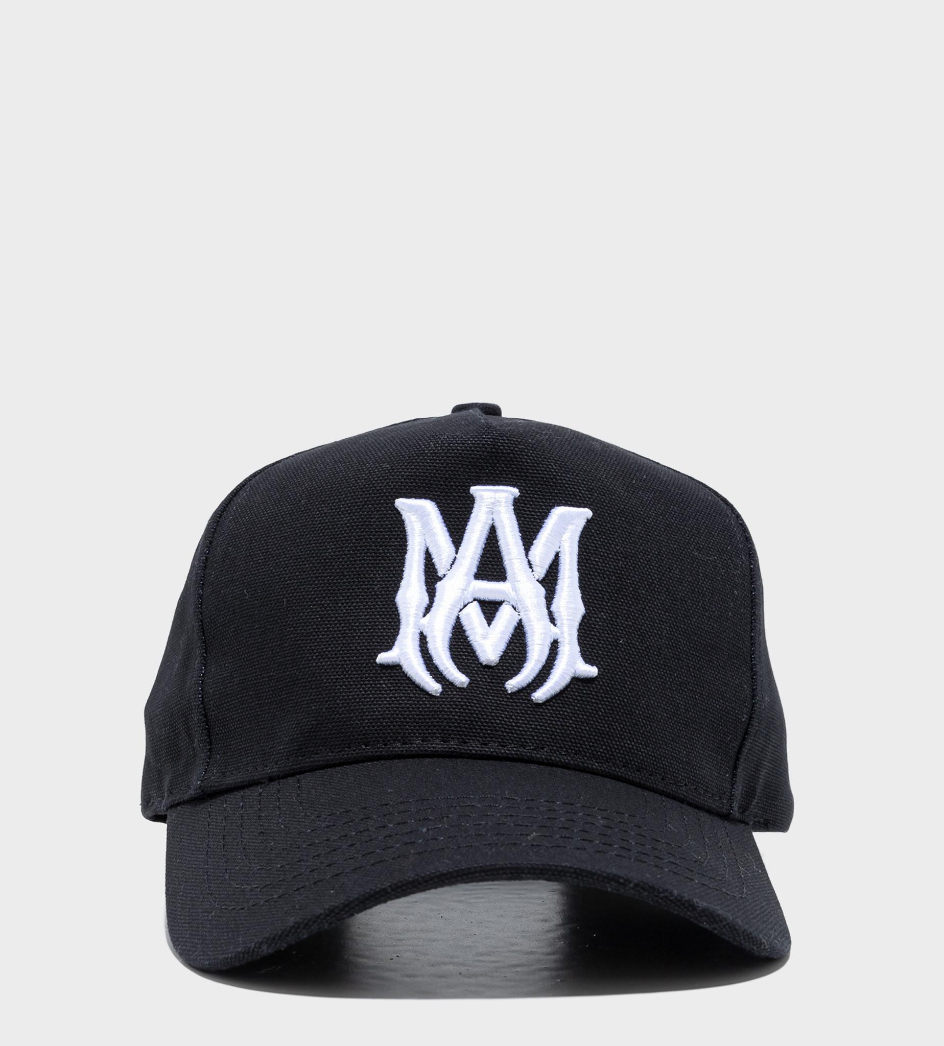AMIRI Branded Baseball Cap Black