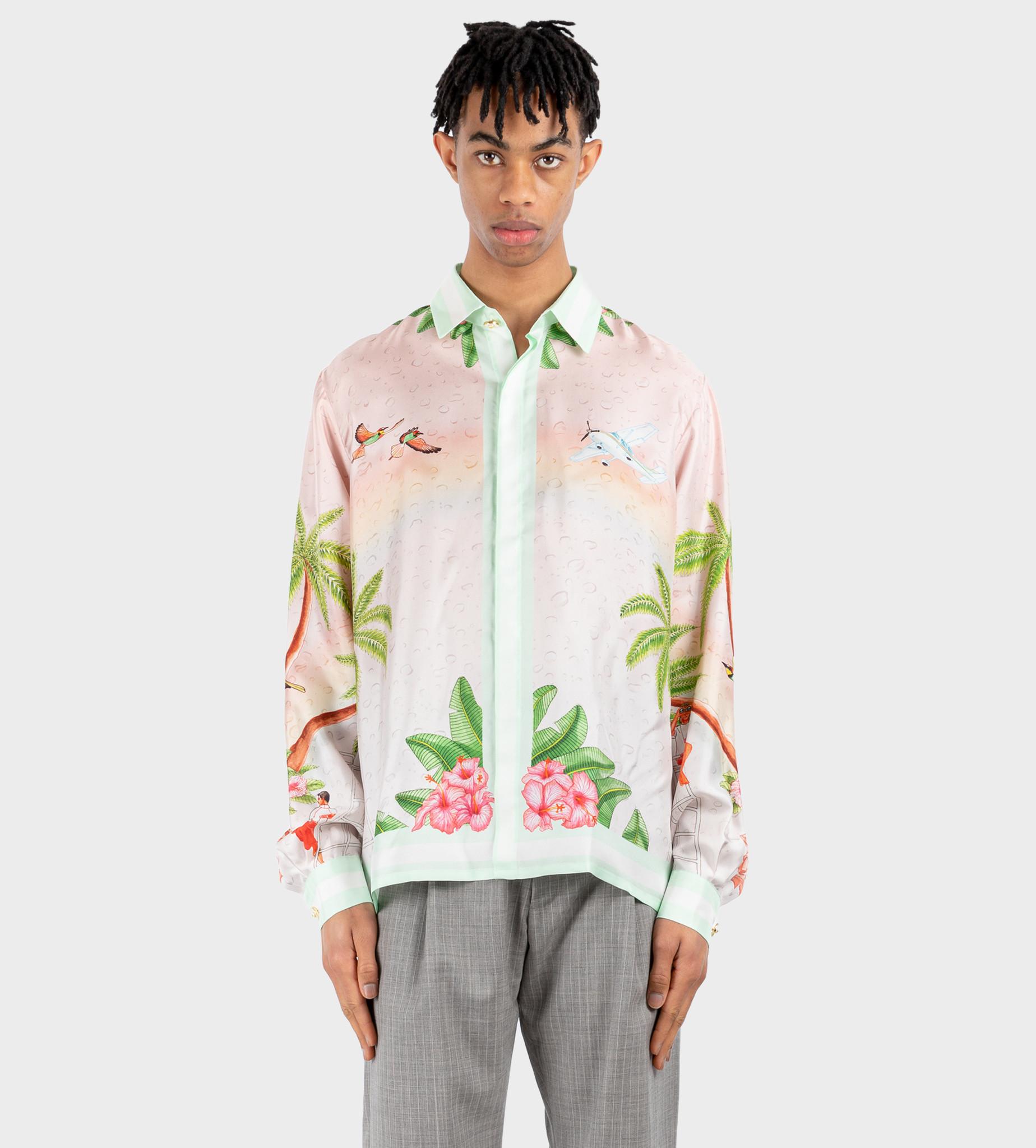CASABLANCA Surf Shirt CLB Pink