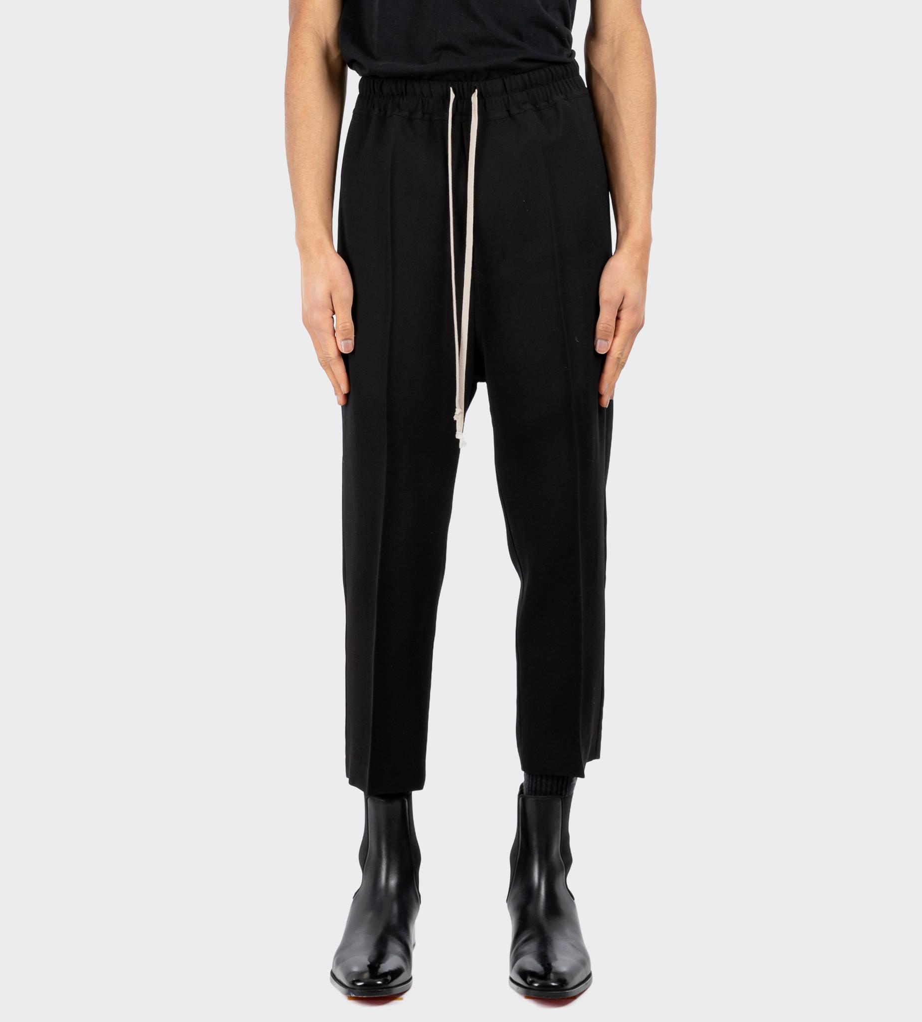 RICK OWENS Phlegethon Pants Black