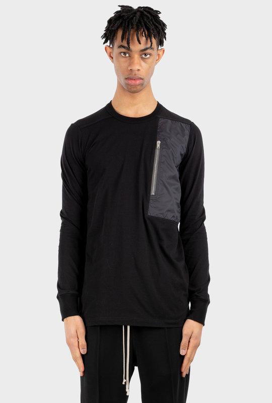 Phlegethon Zip Pocket T-Shirt Black