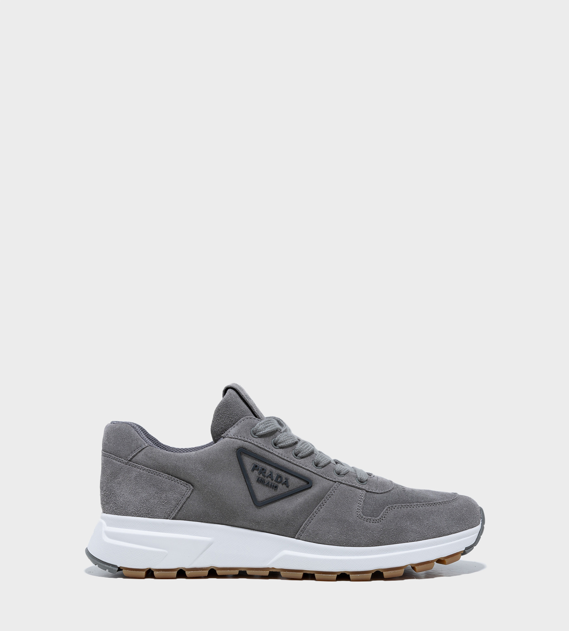 PRADA Prax 01 Laced Sneakers Grey