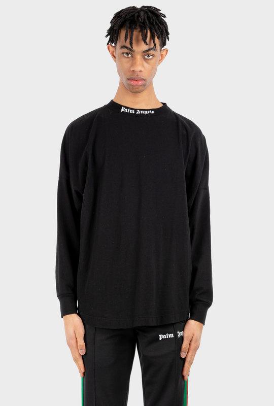 Logo Print Crewneck T-Shirt Black