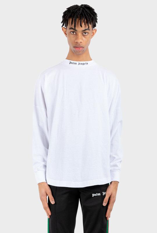 Logo Print Crewneck T-Shirt White