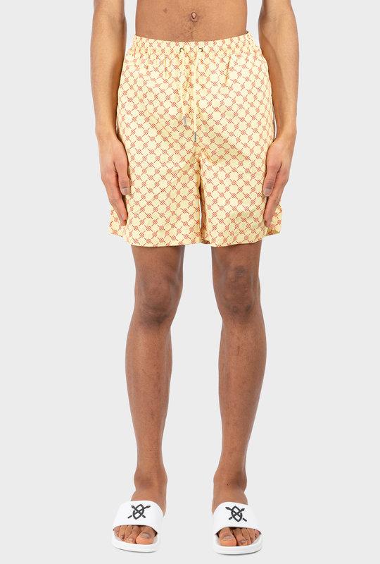 Monogram Kali Shorts Yellow