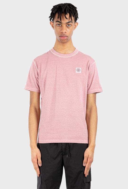 Compass Patch T-Shirt Pink