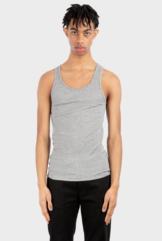 Modal Rib Tank Top Grey