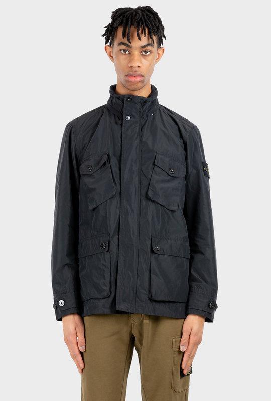Lightweight Multi-Pocket Jacket Black