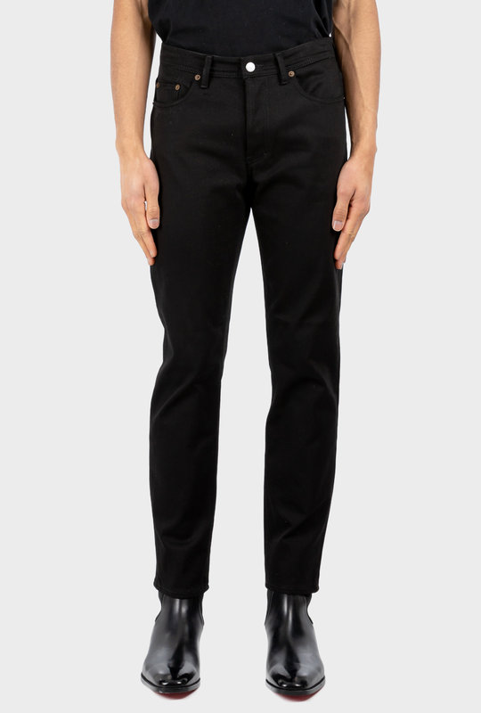 Slim Tapered Jeans Stay Black