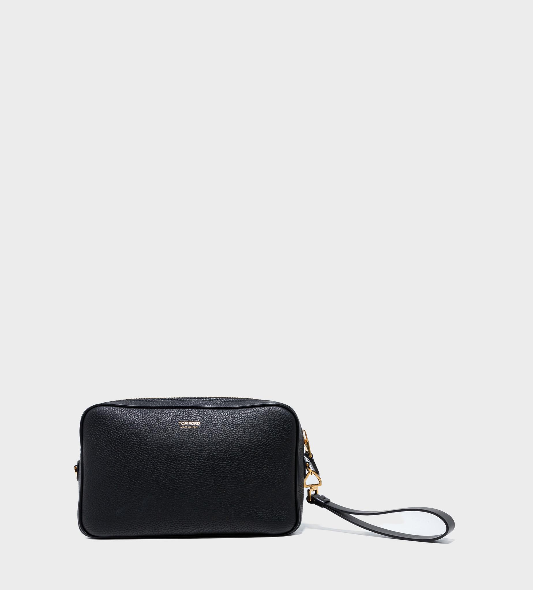 TOM FORD Logo Print Wash Bag Black