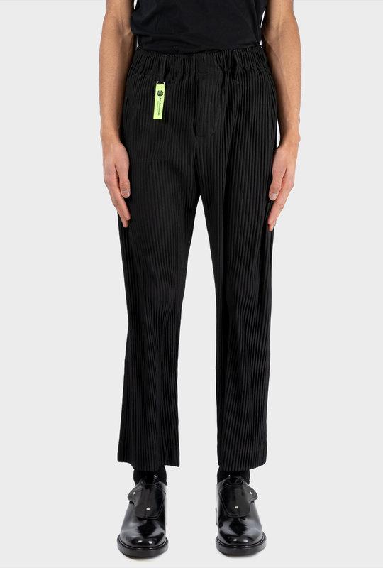 Rib Trousers Black