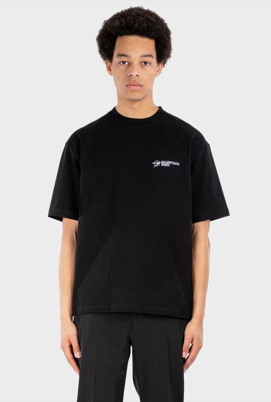 Corporate Medium Fit T-Shirt Black