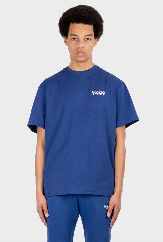 Circles T-shirt Blue
