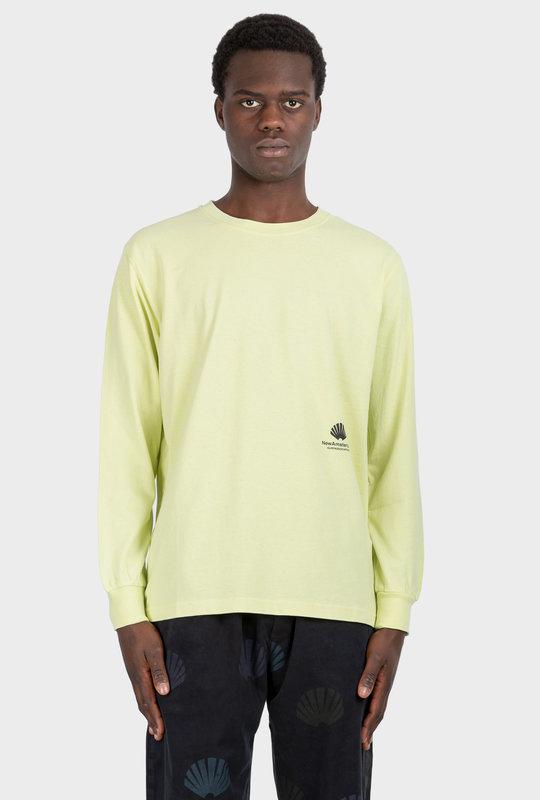 Cut Long Sleeve Shirt Luminary