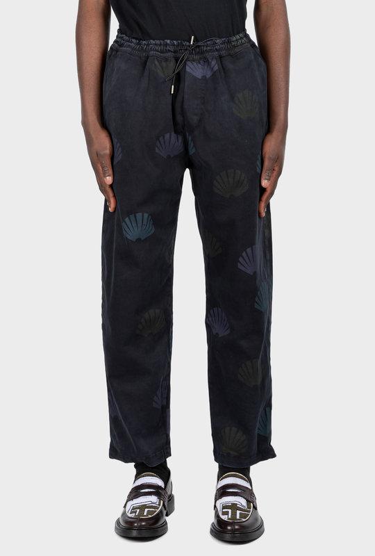 Work Trouser AOP Navy