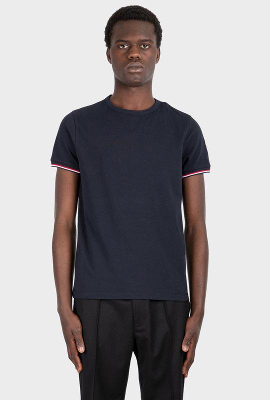 Felt Logo T-shirt Navy