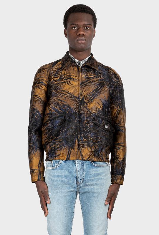 Raglan Jacket Jungle Damask Tobacco