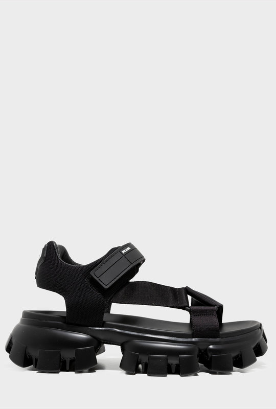 Technical Fabric Sandals Black