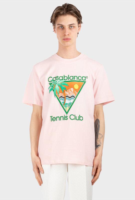 Tennis Club Icon Organic Cotton T-shirt Multi