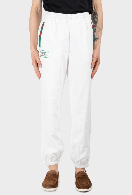 Sport Track Pants White