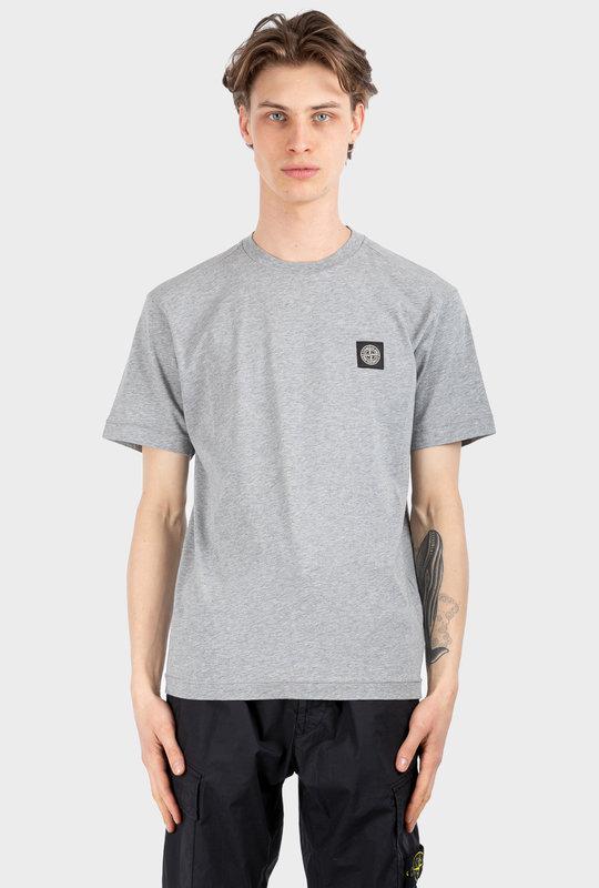 24113 Short Sleeve Polo Shirt Grey