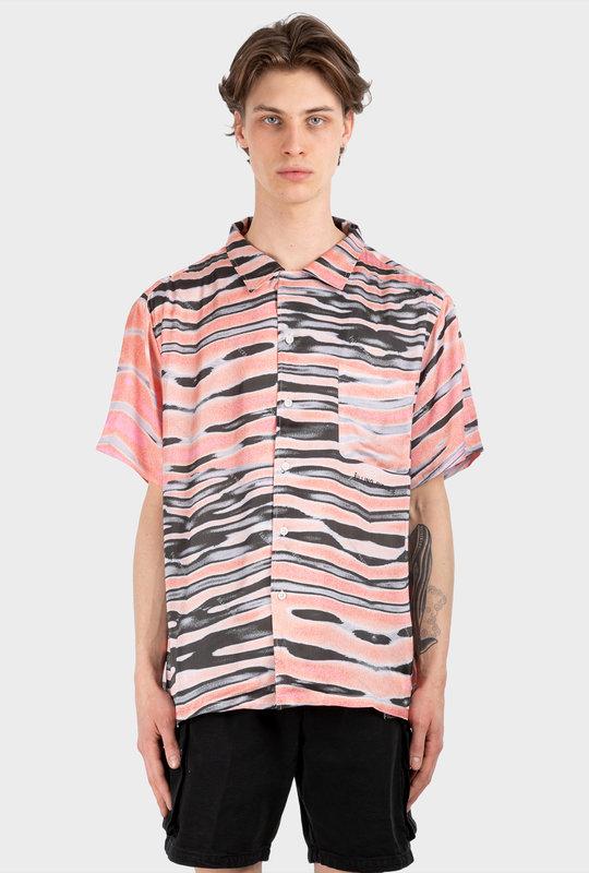 All Over Print Shirt Pink