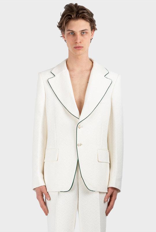 Crepe Jacket White