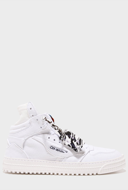 Off-Court High-Top Canvas White