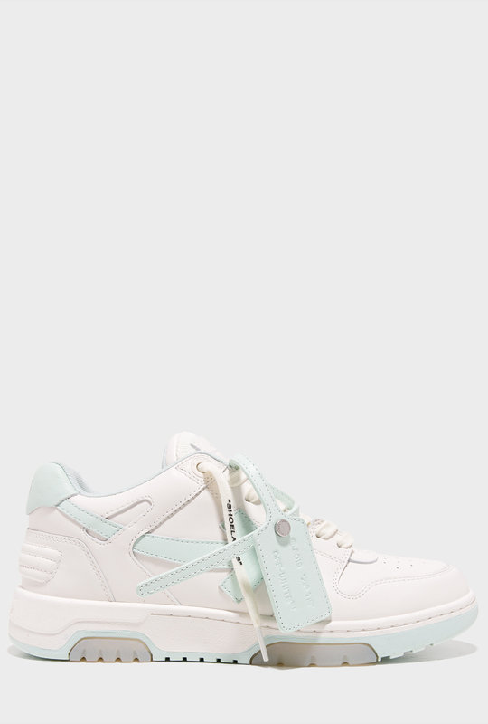 Out Of Office ''OOO'' White Mint Green