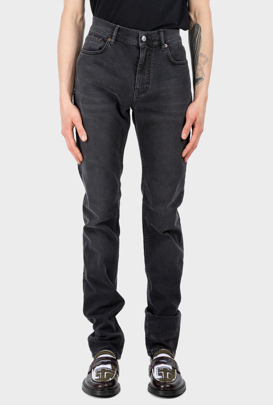 Skinny Fit Jeans Used Black