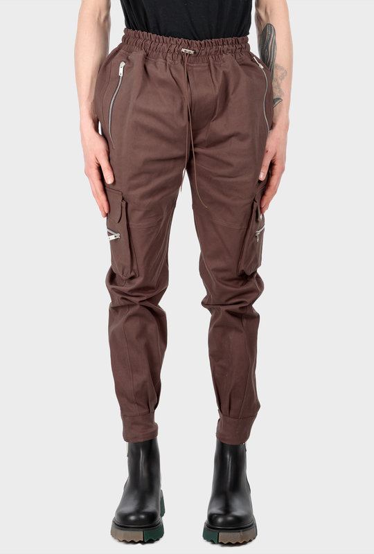 Military Pants Brown