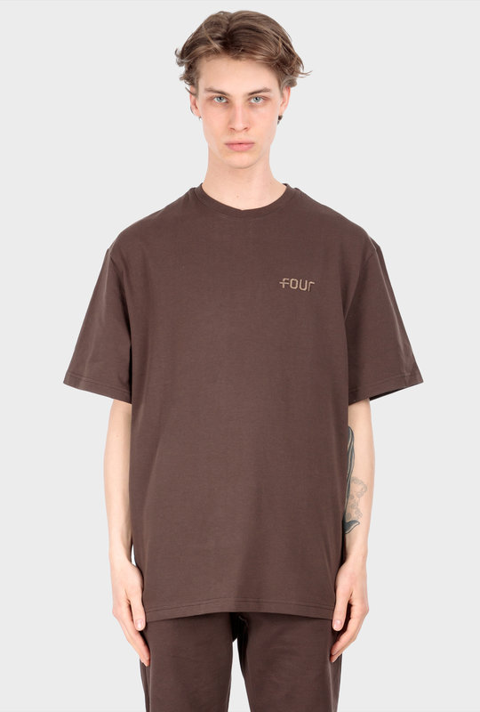 Collection 1 T-Shirt Chocolate Brown