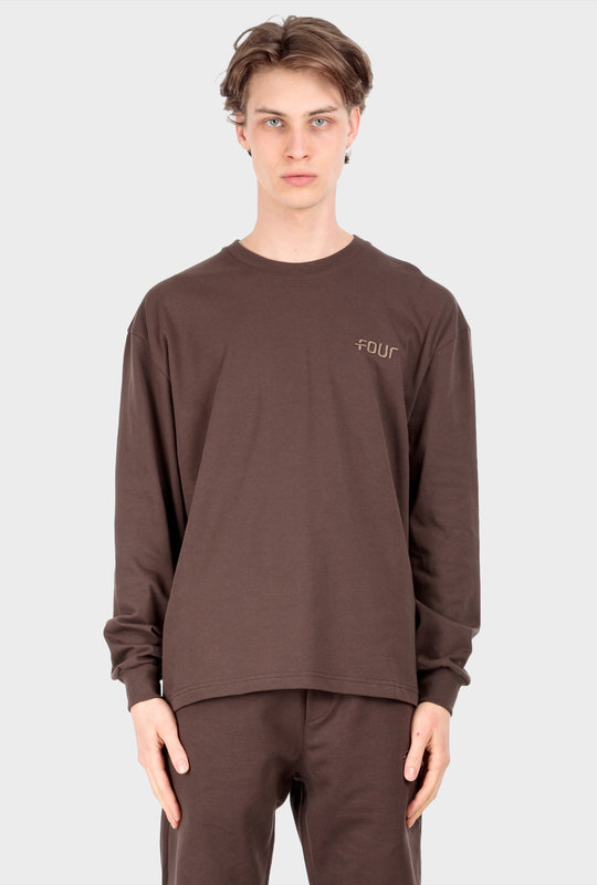 Collection 1 Long Sleeve T-Shirt Chocolate Brown