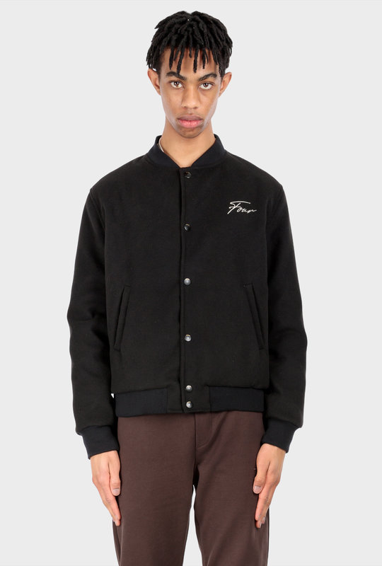 Collection 1 Teddy Jacket Pirate Black